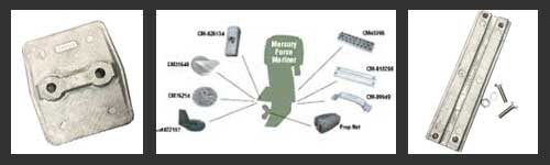 Outboard Zinc Anodes