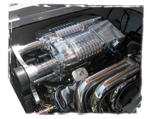 Quad Rotor Carb Superchargers