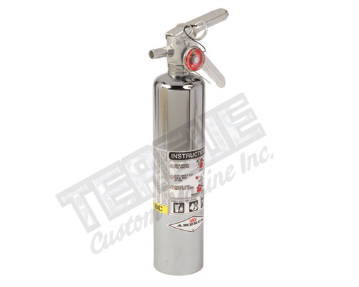 Chrome ABC & BC Dry Chemical Fir