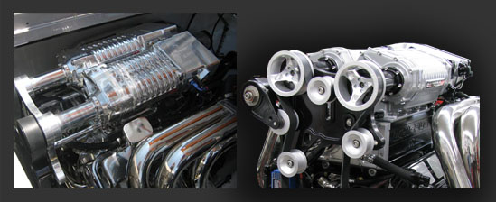 Whipple Quad Rotor Supercharger