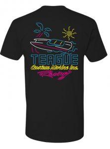 Teague Neon Vibes T-Shirt, Back