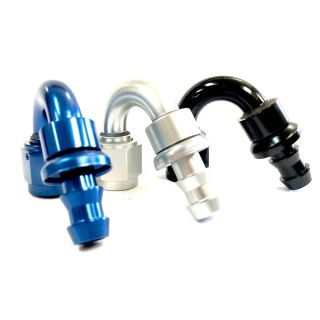 -04 AN 120d Aluminum PUSH LOCK HOSE END