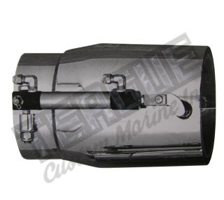 "Aft Firing Sound Choice Silencer 4 1/2"" Clamp On"