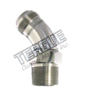 "Stainless Steel Elbo -20 X 1 1/4""npt 45"