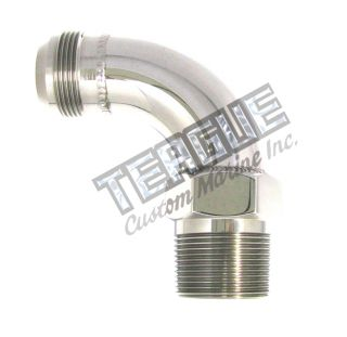 "Picture of Stainless Steel Elbo -20 X 1 1/4""npt 90"