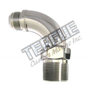 "Stainless Steel Elbo -16 X 1""npt 90"