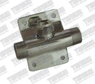 "Bulkhead Flush Adapter -12AN x 1""MPT"