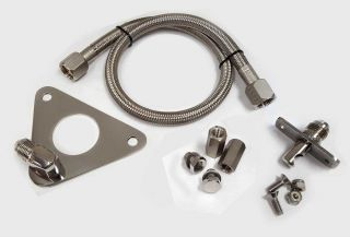SS ITS Flexible Port in Drive Shower KIT