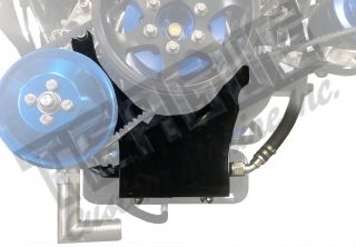 engine mount aeromotive fuel pump bracket