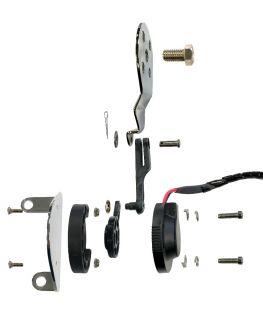 Picture of Digital Trim Indicator Actuator kit SC/Bravo on Mercury indicator