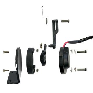Digital Trim Indicator Actuator kit Mercury trim tab (Sold Per Pair)