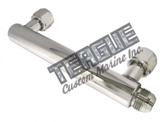 -12 Crossover Whipple Intercooler Inlet