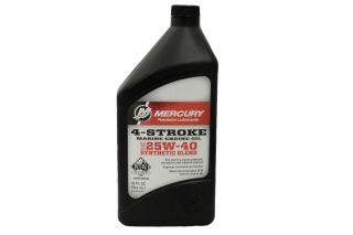 25w-40 4-Stroke Synthetic blend Engine oil Qt. .946 liters