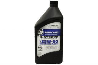 25w-50 4-Stroke Synthetic blend Engine oil 1qt. .946 liters