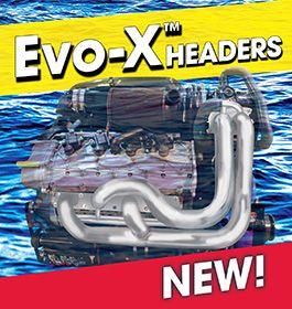CMI Evo-X Headers - Merc QC4V Replacement