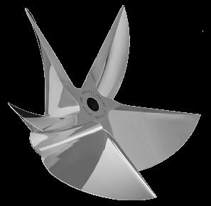 MERCURY CNC Machined PRO FINISH 5 Blade Cleaver