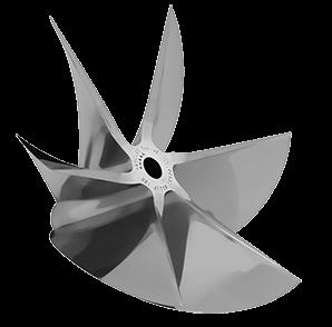 MERCURY CNC Machined PRO FINISH 6 Blade Cleaver