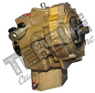 Velvet Drive Transmission 72-LHP Manual Shift w/Rear Support & Flange