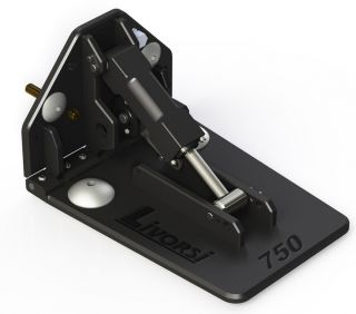 Picture of LIVORSI 750 SERIES, BILLET TRIM TABS, LIVORSI BACKING PLATE, MECHANICAL CABLE INDICATOR