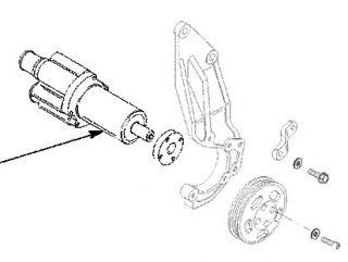 500efi sea pump early model