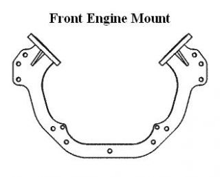 Offshore Engine Mount-Front