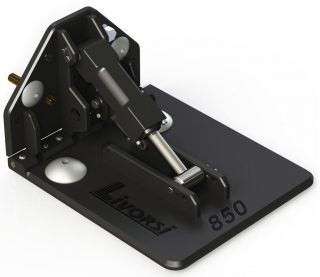 Picture of LIVORSI 850 SERIES, BILLET TRIM TABS, LIVORSI BACKING PLATE, MECHANICAL CABLE INDICATOR