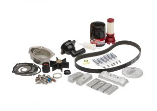 Mercury 300 Hour Maintenance Kit, L6 Verado S/N 2B144122 & Below