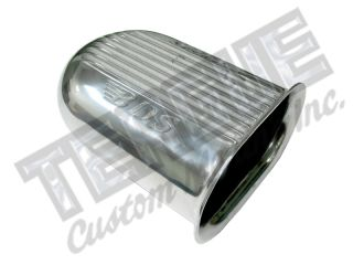 BDS POLISHED ALUMINUM INTAKE SCOOP
