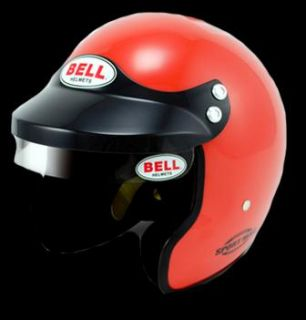 BELL SPORT MAG OPEN FACE HELMET - ORANGE