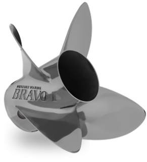 MERCURY BRAVO 1 FS 21P RH PROPELLER