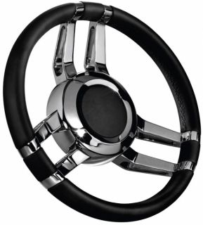 Isotta Carlotta steeing wheel black