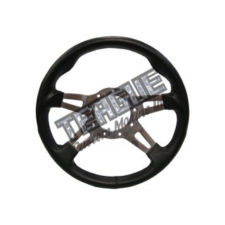Grant F-9 Steering Wheel, Black grip / Polished Spokes (CALL FOR AVAILABILITY)