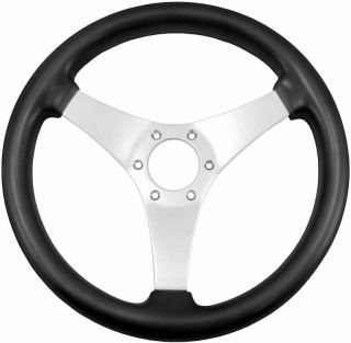 Grant Non Directional 3 Spoke steering wheel, Black