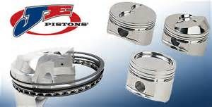 JE PISTONS BBC INVERTED DOME PISTONS (9.8 DECK)