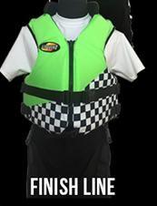 Competition Vest  #175 - FINISH LINE