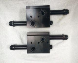 Mercury Racing 850sci / 1025sci / 1075sci / 1200sci  Intercooler Manifold Block (GOOD TAKE OFF)