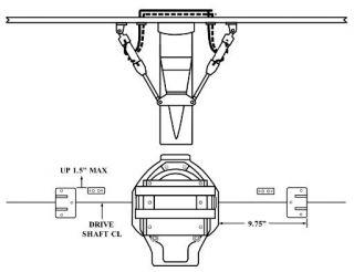 """B-MAX DUAL RAM OUTSIDE KIT 9.75"""""""