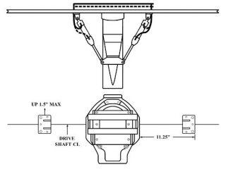"""B-MAX DUAL RAM OUTSIDE KIT 11.25"""""""