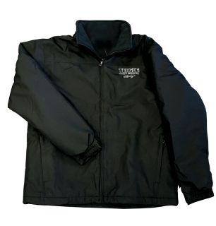 "Teague Custom Marine ""Saga"" jacket in Black"
