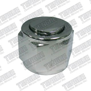 -12 Cap Polished Stainless Steel