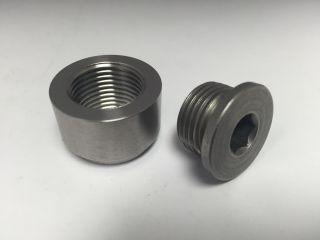 Teague weld on SS 18mm O2 bung / Plug