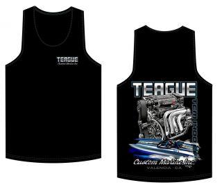 Black Tank Top: Teague TCM 1400 EFI design