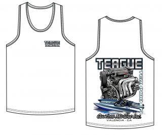 Teague TCM 1400 EFI design tank top