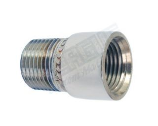 Stainless Steel Extention 1/2mpt  X 1/2fpt short