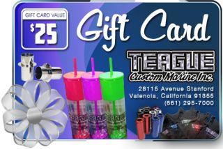 Teague Custom Marine Gift Card