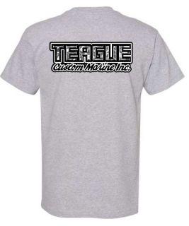 Teague Chrome Logo Tee, Back