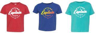 Teague Future Captain Toddler T-Shirt