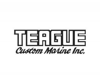 Teague Custom Marine Inc. Logo Decal