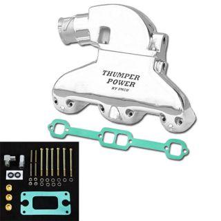 Thumper Power Small Block Manifold & Riser Kit Polished
