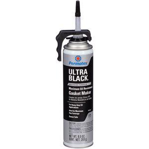 PERMATEX ULTRA BLACK SILICONE - 9.5OZ